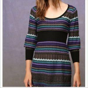 BOGO Free People • Striped Tunic Sweater Dress